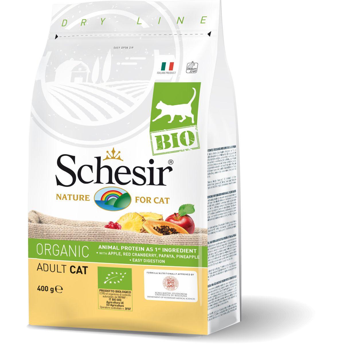 SCH CAT BIO CHICKEN 400GR N 00001