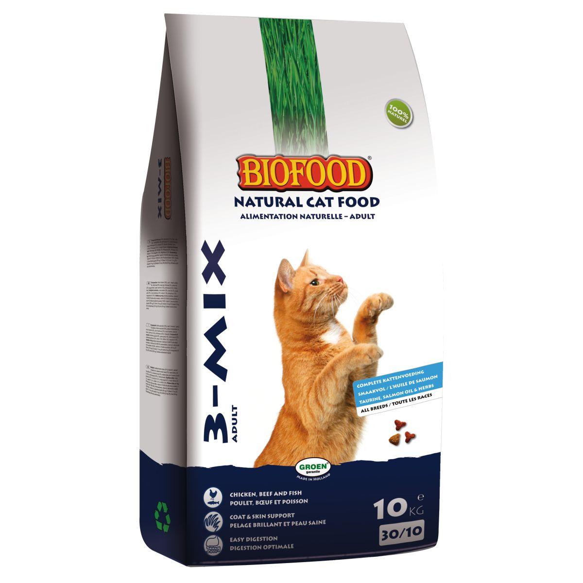 Productafbeelding voor 'Biofood - 3 mix meerkleurig 10 kg'