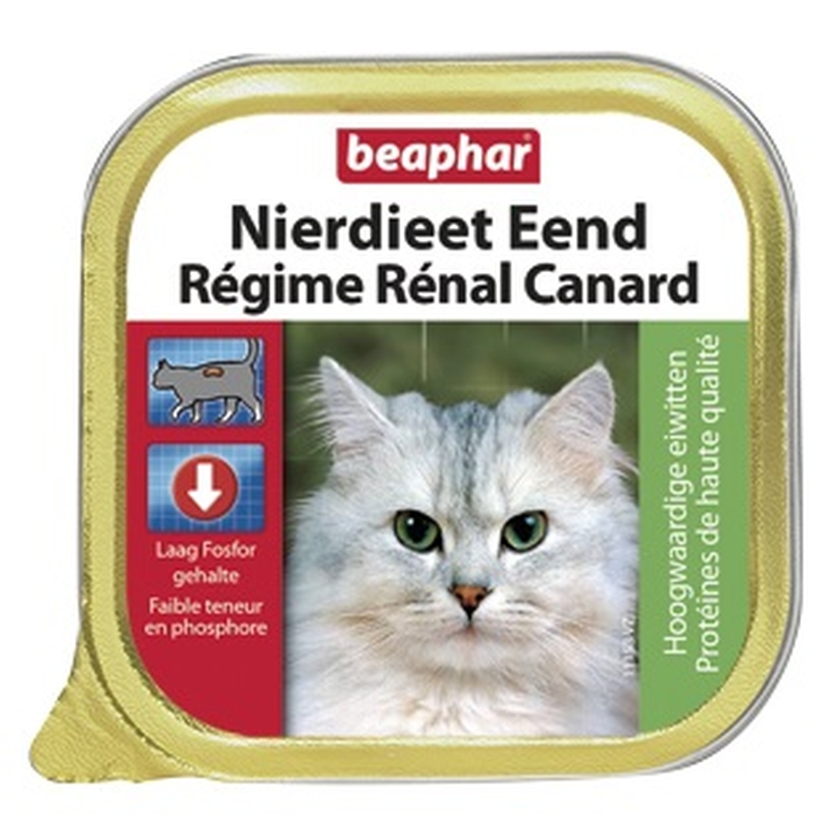 Beaphar nierdieet kat eend