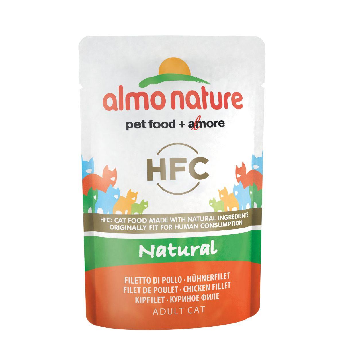 Afbeelding Almo Nature Classic Nature Kipfilet 55 gr Per 24