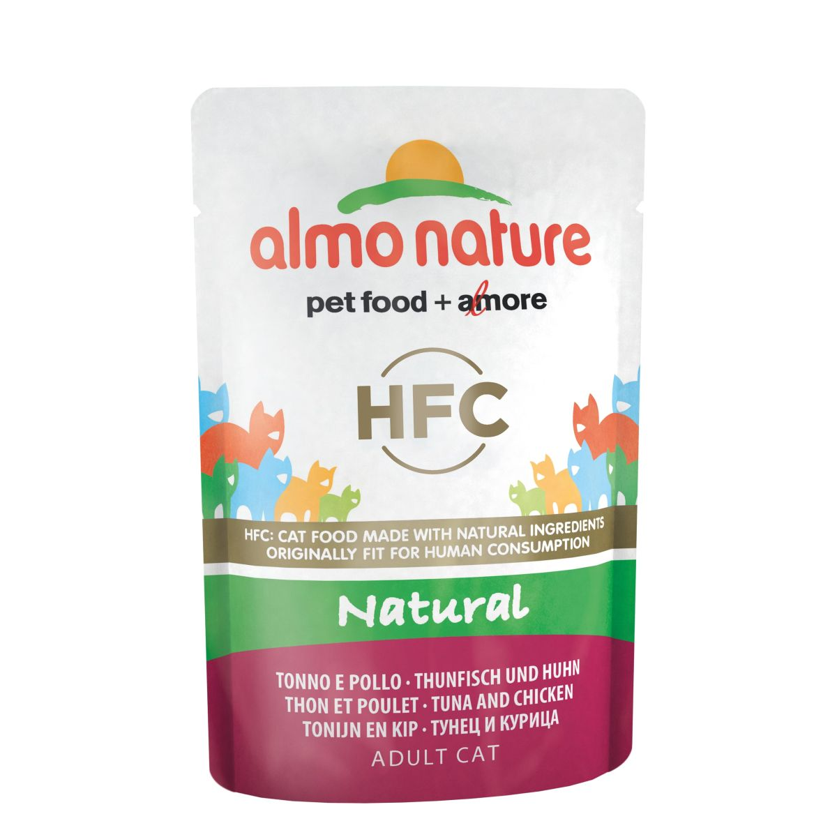 Afbeelding Almo Nature Classic Nature Tonijn & Kip 55 gr Per 24
