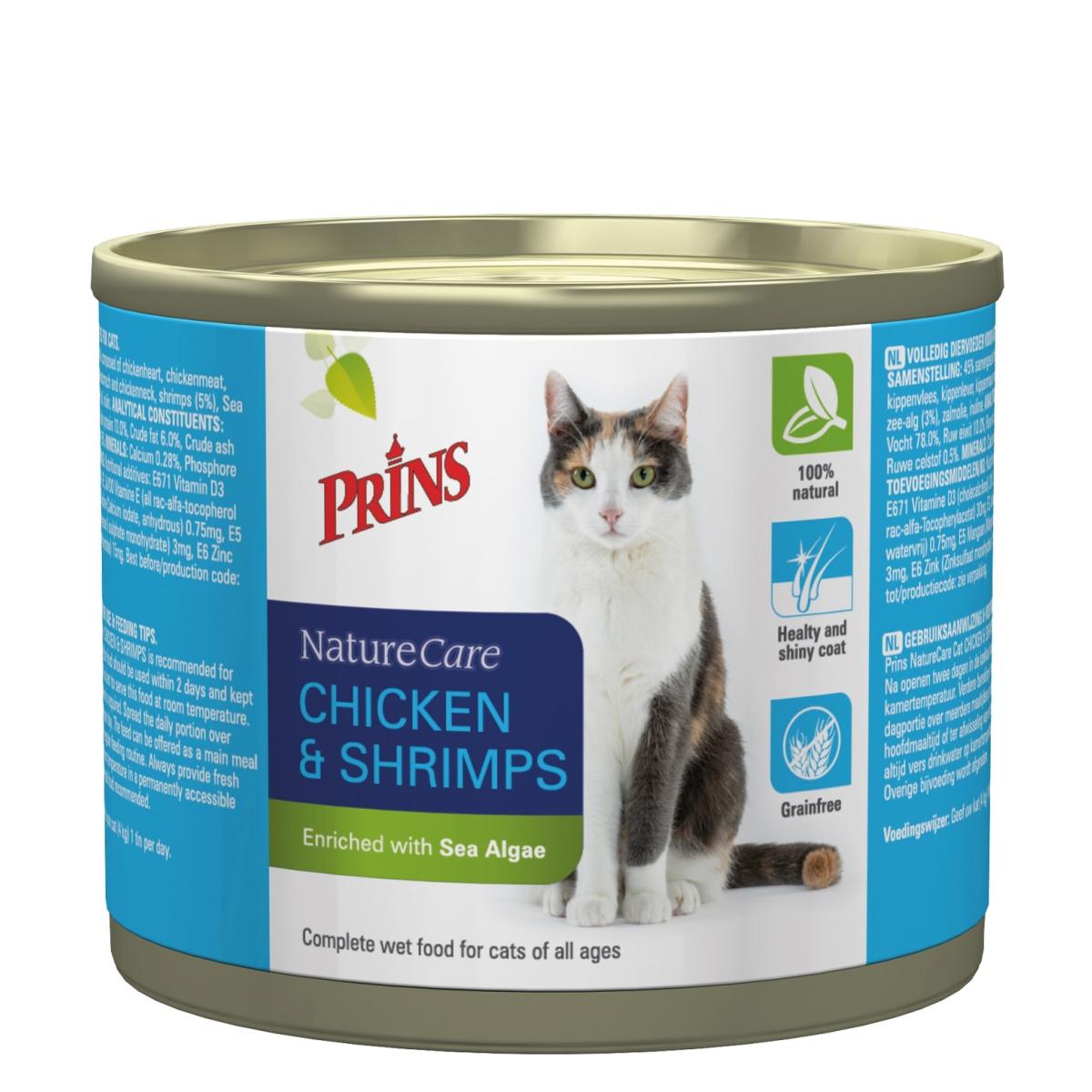 PRI NC CAT CHIC&SHRIMPS2X200GR J 00003