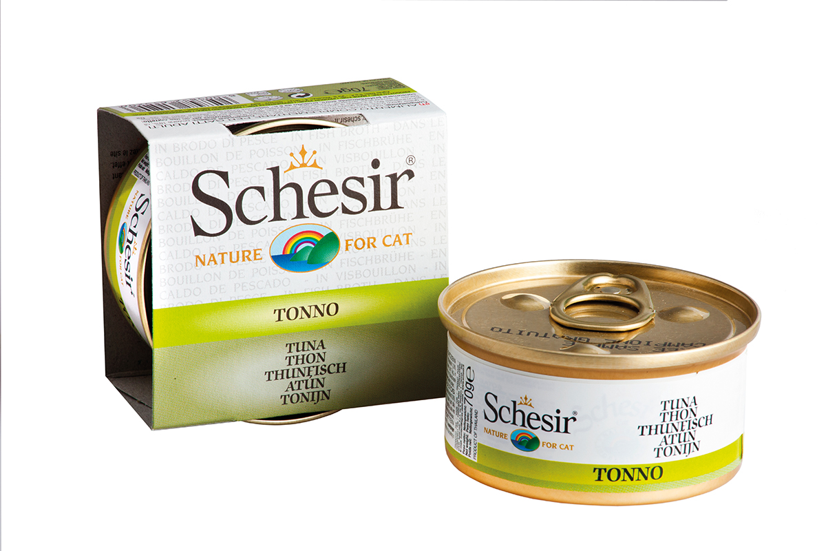 SCH CAT TONIJN+BOUILLON 70GR N 00001