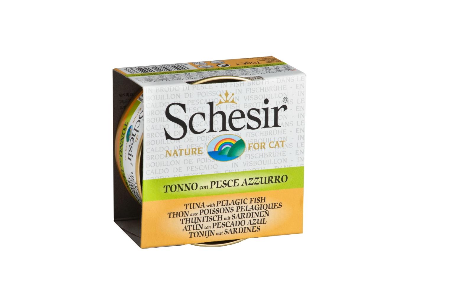 SCH CAT TONIJN+SARDINES 70GR N 00001