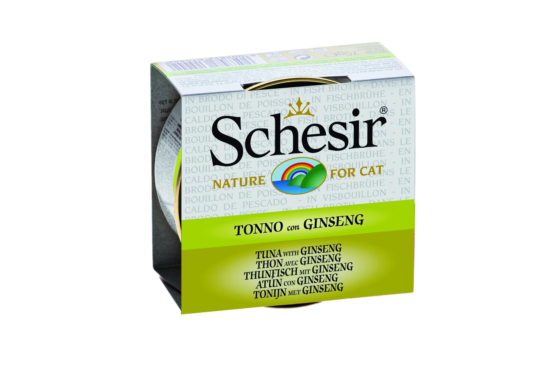 SCH CAT TONIJN & GINSENG 70GR N 00001