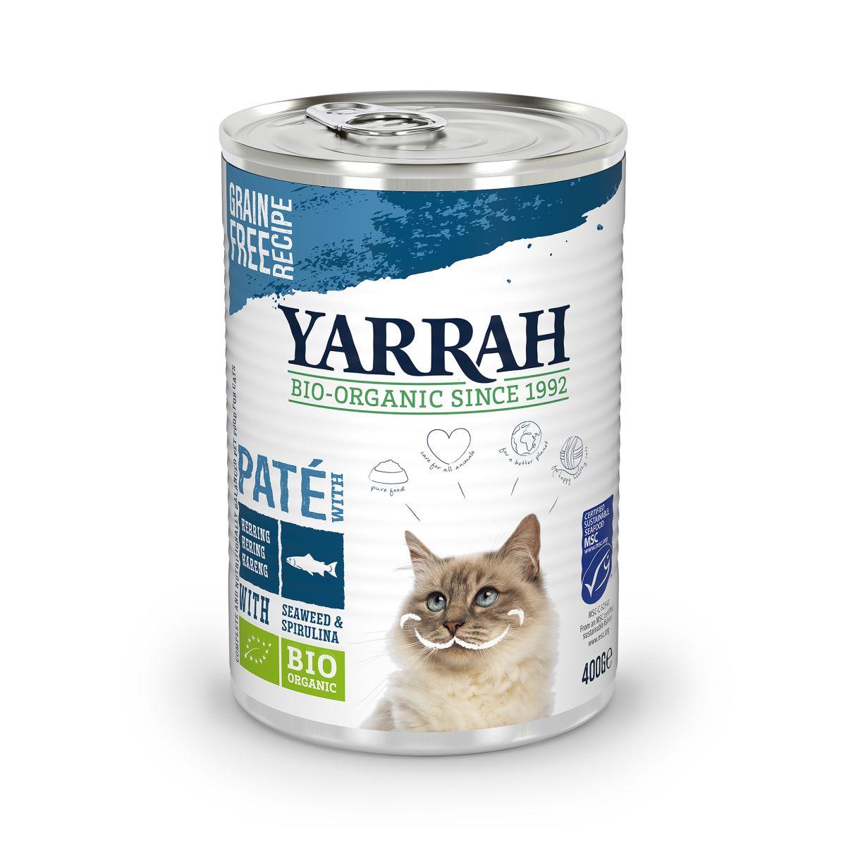 Yarrah - welness pate meerkleurig 400 gr