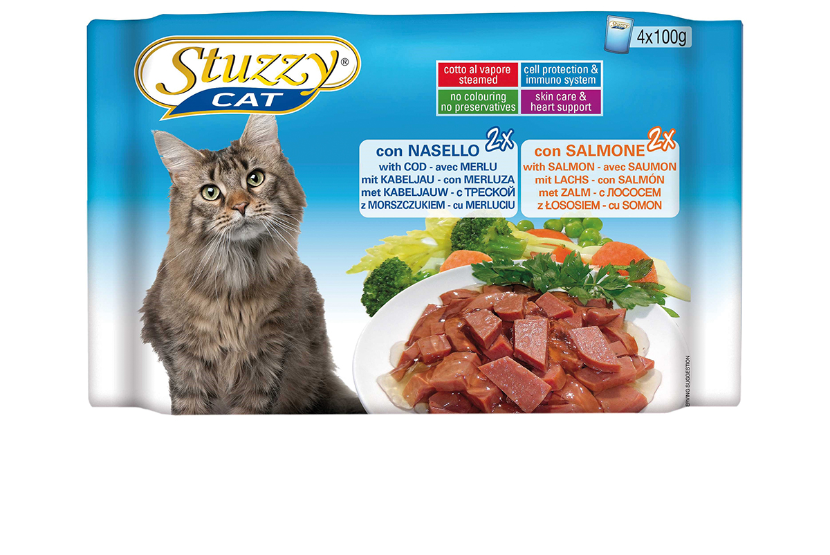 STU CAT POUCH MP CO&SA.4X100GR N 00001