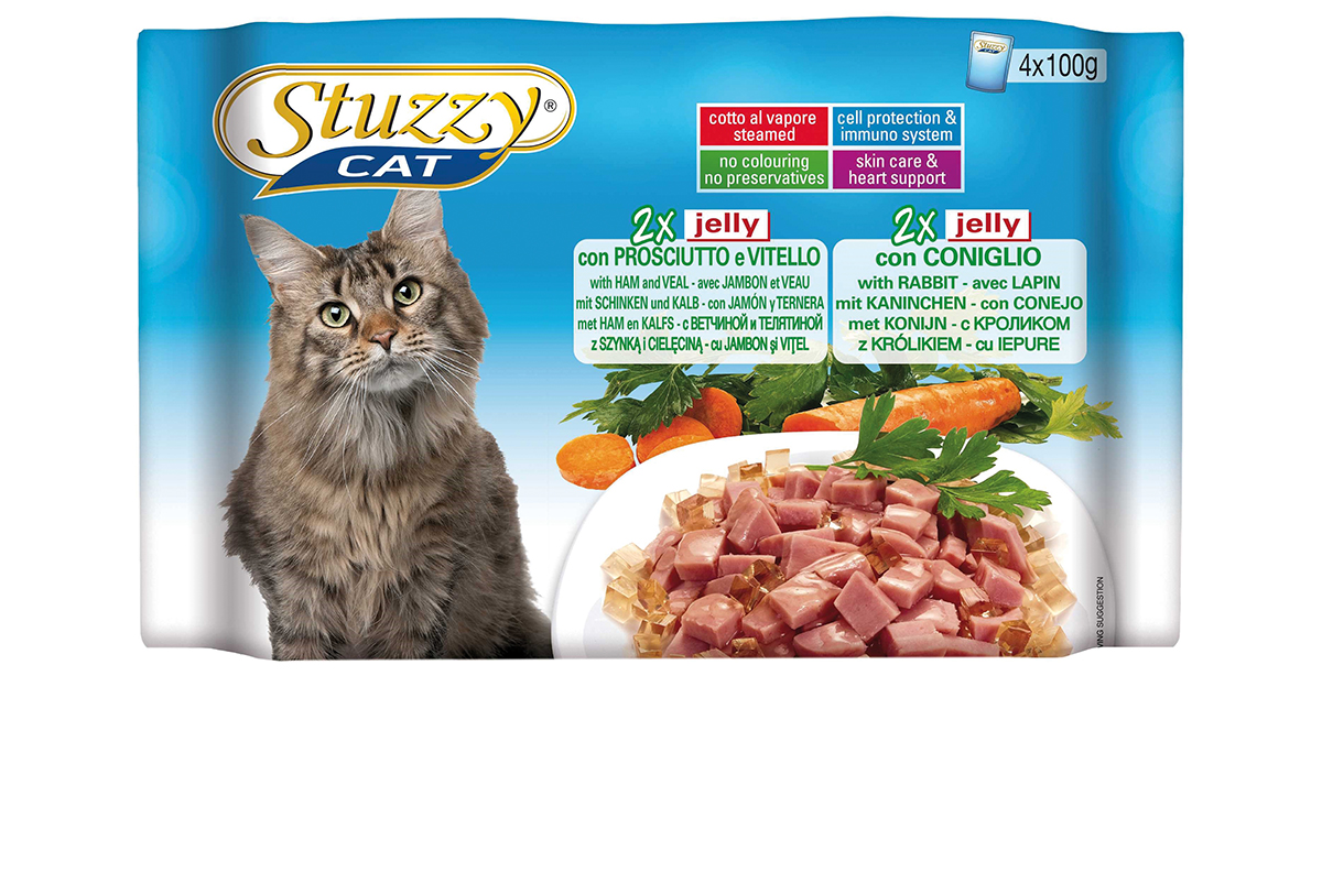 STU CAT POUCH MP JELLY 4X100GR N 00001