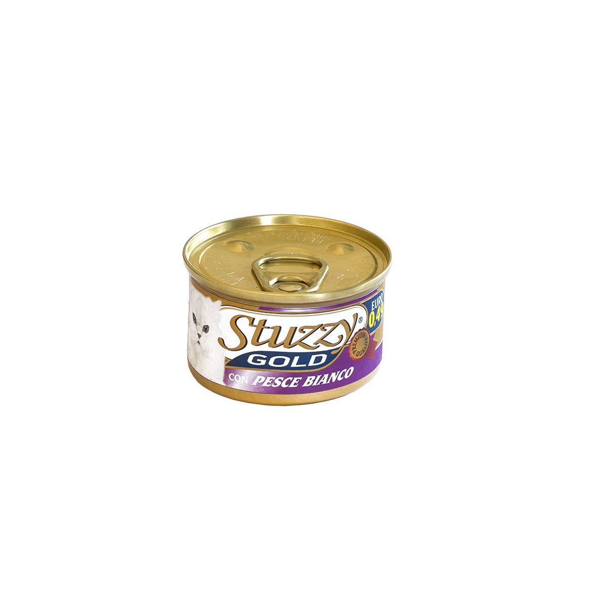 STU CAT GOLD WHITE FISH 85GR 00001
