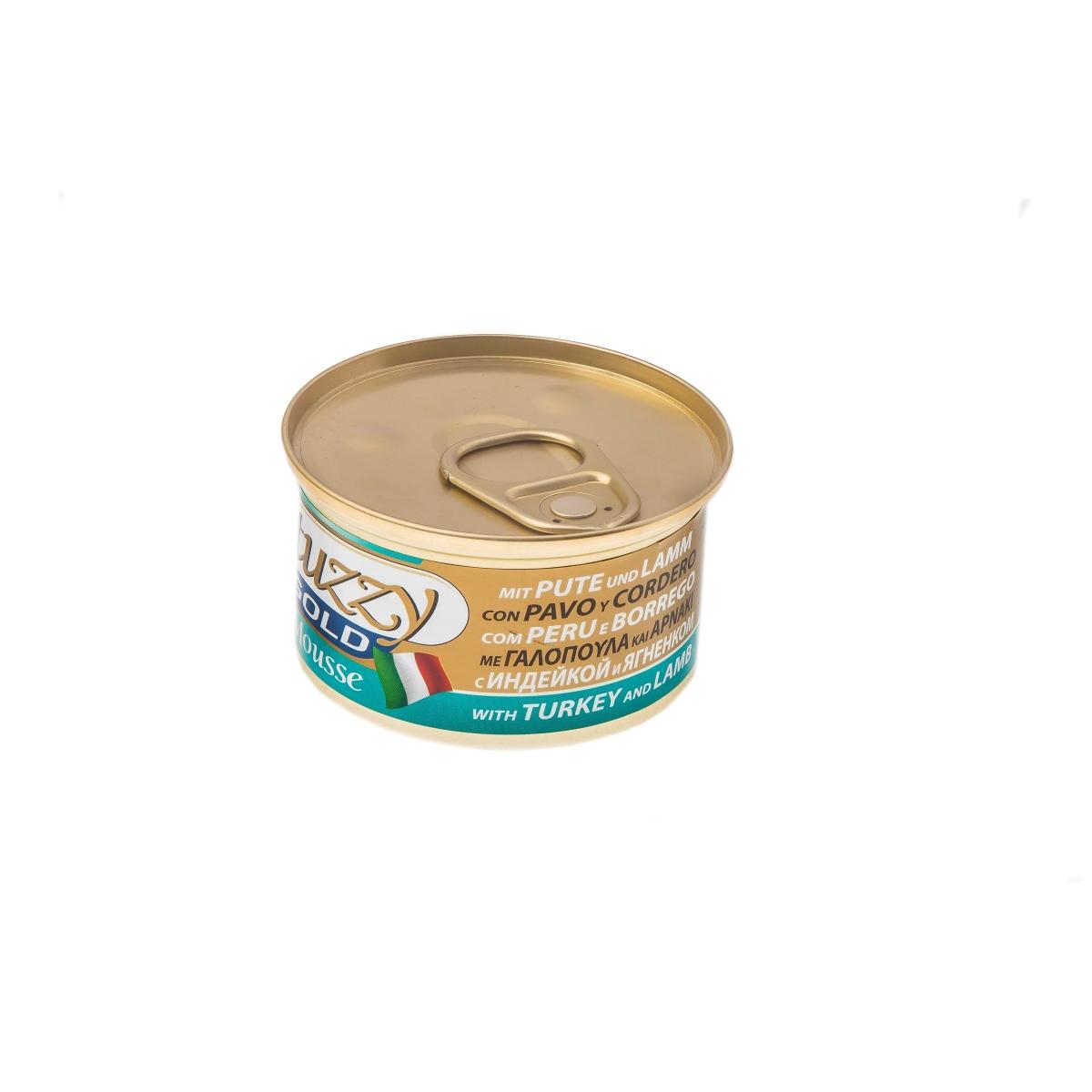 Productafbeelding voor 'Stuzzy - gold natvoer meerkleurig 85 gr'