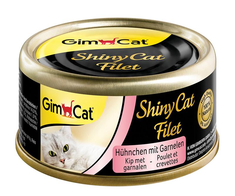 GC SHINYCAT FILET KIP+GAR.70GR 00001