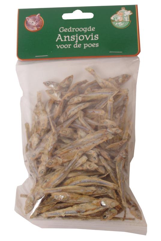 Gedroogde visjes meerkleurig 100 gr