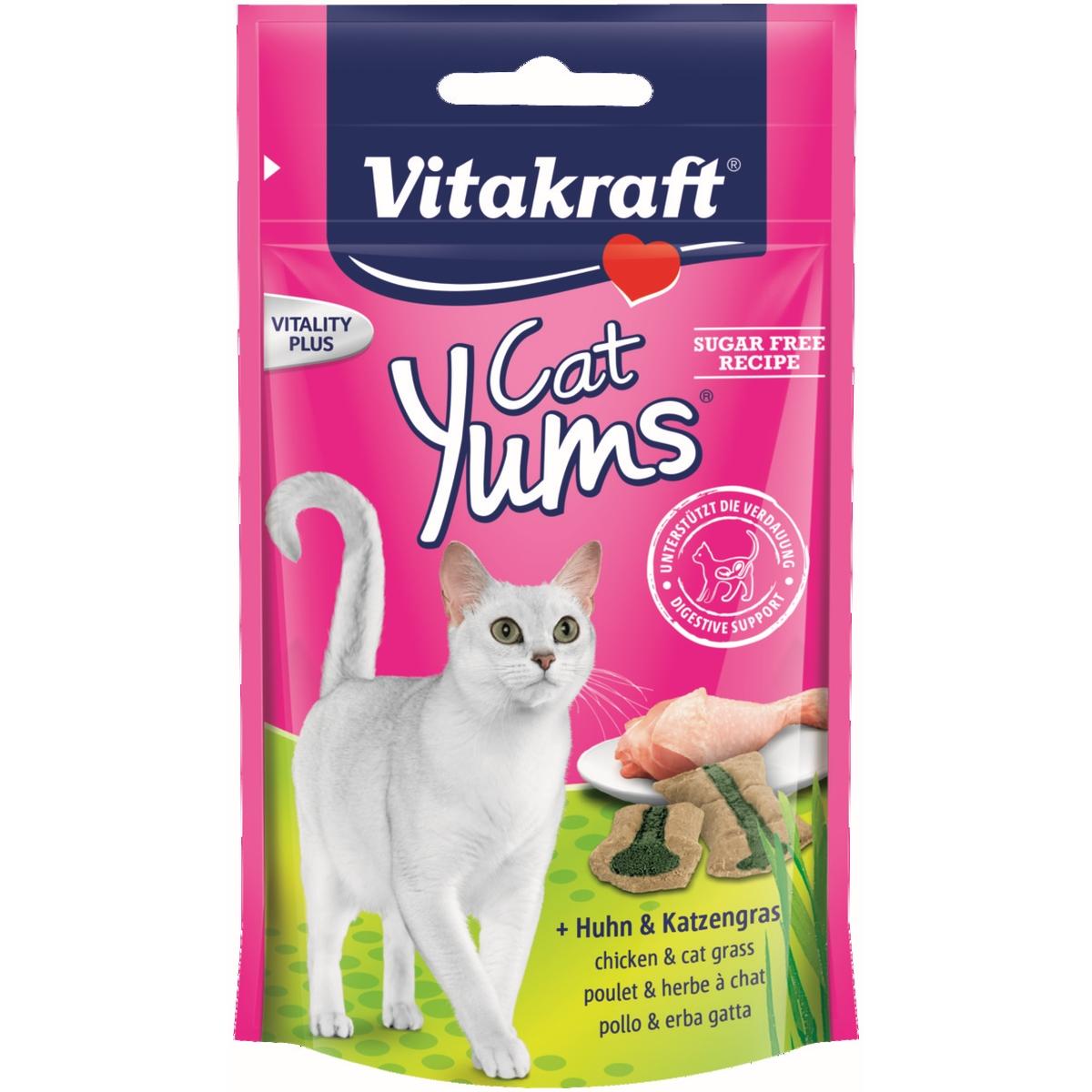 Productafbeelding voor 'Vitakraft - cat yums meerkleurig 40 gr'