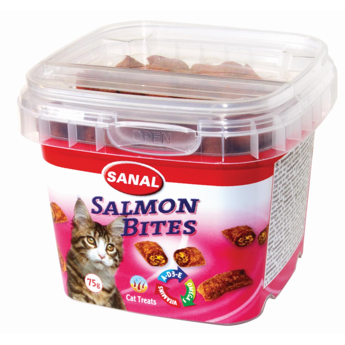 SANAL SALMON BITES CUP 75GR J 00003