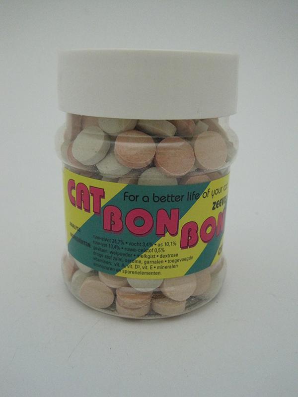 Cat bon bon - zeevis meerkleurig 558 gr