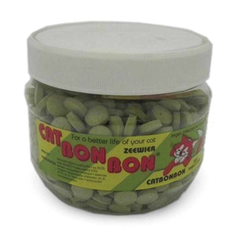 Cat bon bon - zeewier meerkleurig 179 gr
