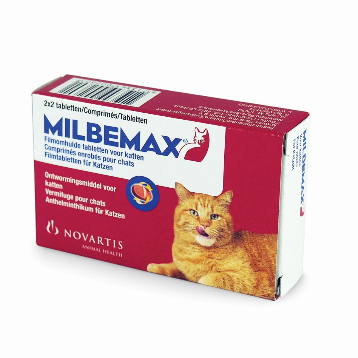 Volwassen kat rood 2 x 2 tabletten