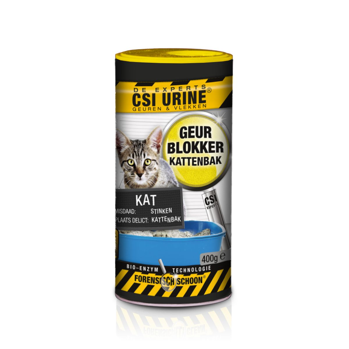 CSI URINE KATTENB.GRANUL.400GR N 00001