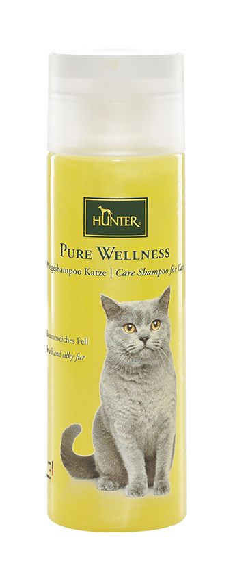 Pure wellness katten shampoo geel 200 ml