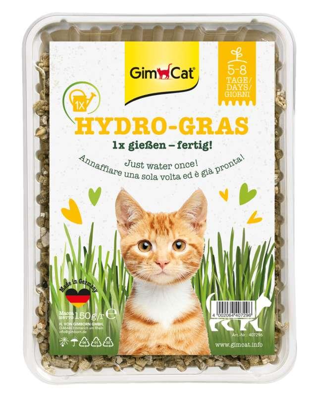 Gimpet - hy kattengras meerkleurig 150 gr