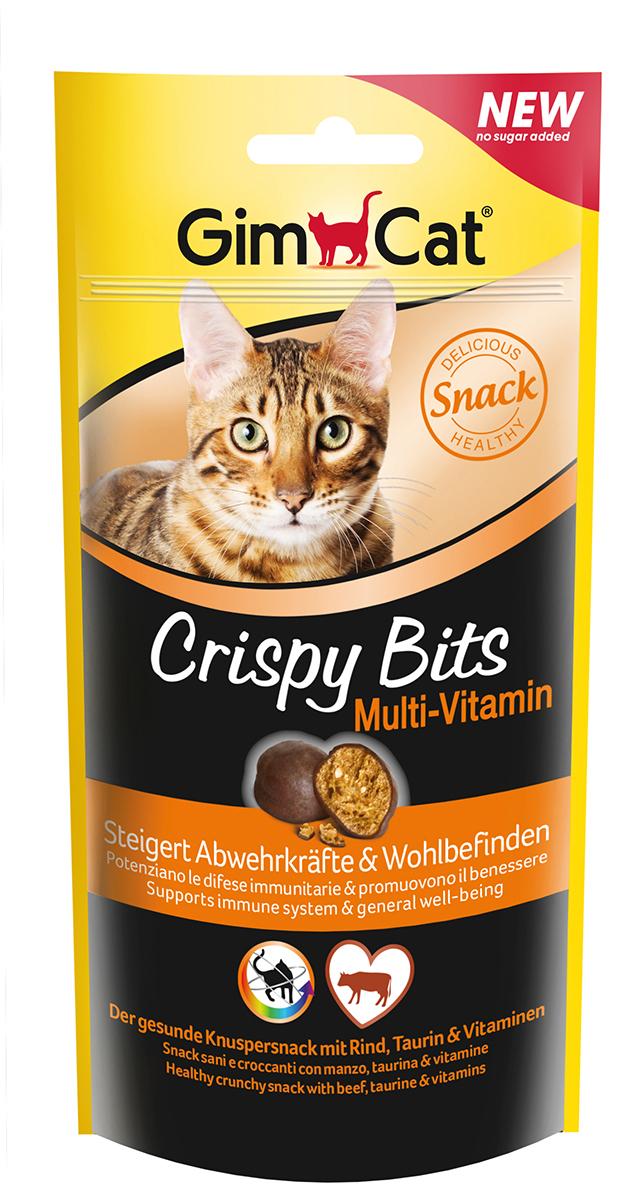 Crispy bits multi vitaminen meerkleurig 40 gr