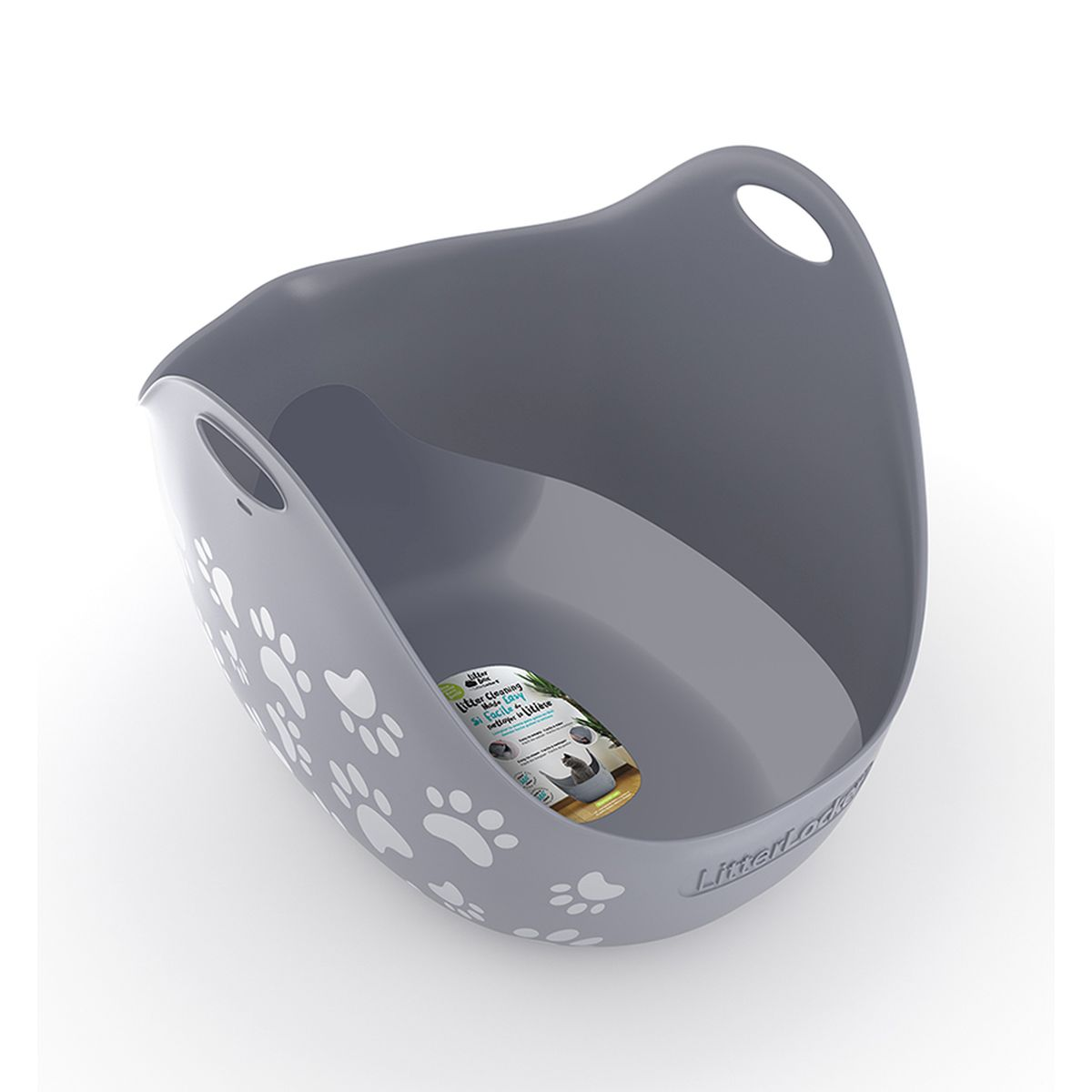 LITTERLOCKER LITTERBOX GREY N 00001
