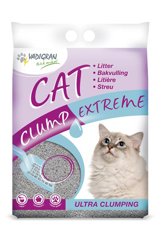 Productafbeelding voor 'Clump extreme grijs 15 kg'