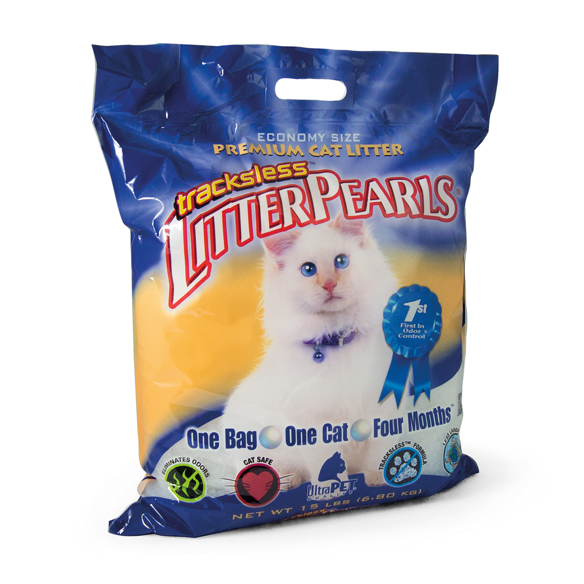 LITTER PEARLS TRACKLESS 15LB J 00002