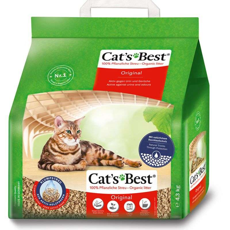 Oko plus kattenbakvulling 10L Cat's Best