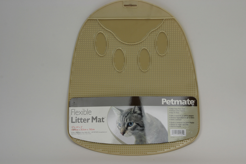 Flexible litter mat beige