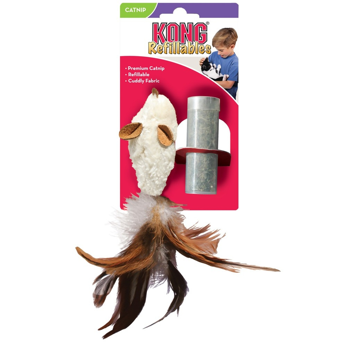 KO CAT FEATHER MOUSE 00002