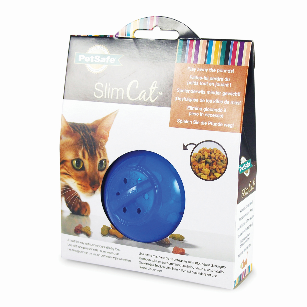 Petsafe - slimcat blauw