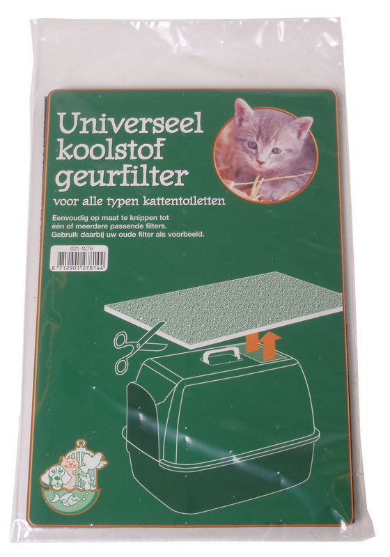 Koolfilter universeel wit