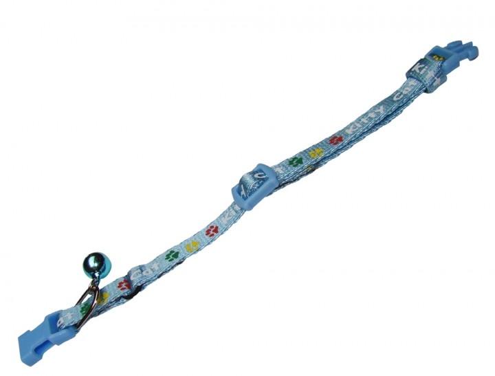 Nobby - halsband kitty blauw