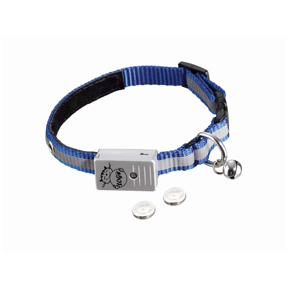 Halsband starlight led blauw