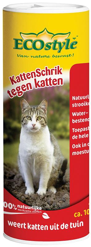 Ecostyle - kattenschrik poeder meerkleurig 400 gr