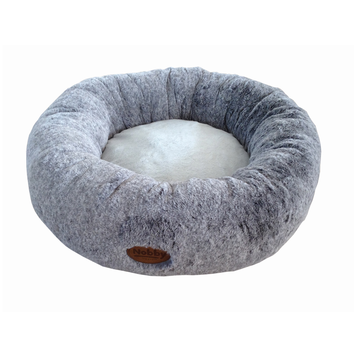 NB DONUT BED CUDDLY L.GR 50CM 00001