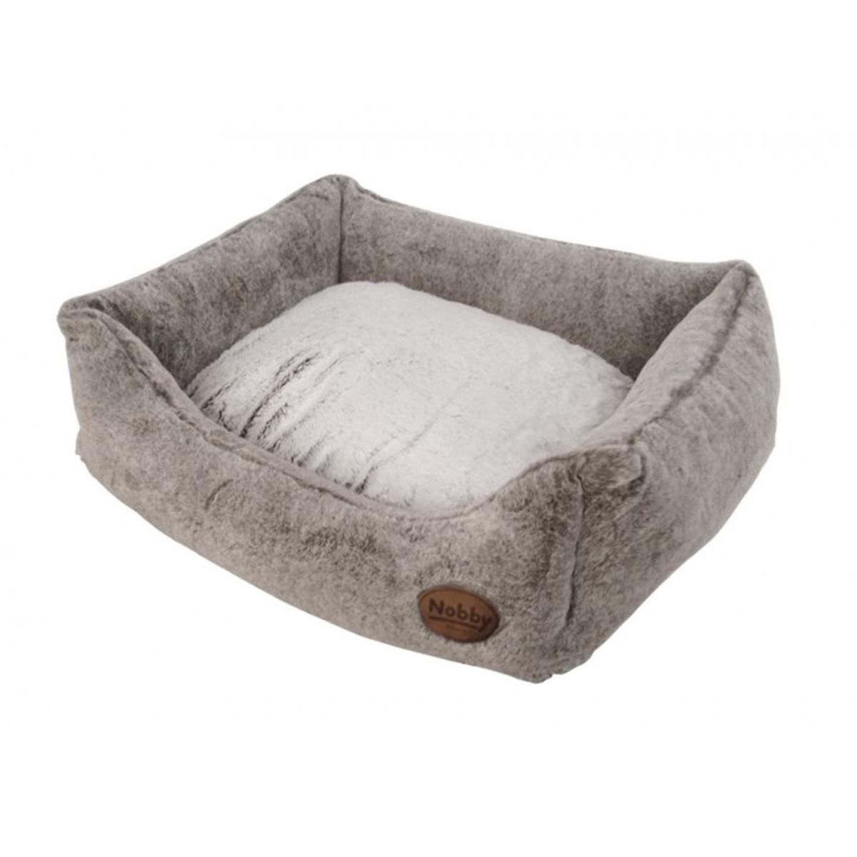 Productafbeelding voor 'Vierkant bed cuddly licht bruin'