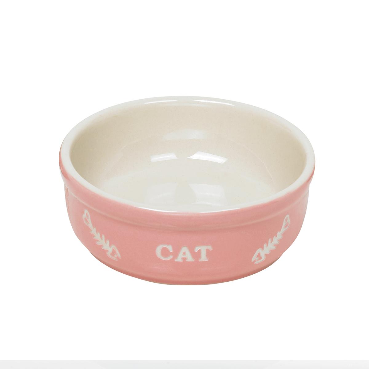 NB CAT EETBAK ROZE/BEIG.13,5CM 00002