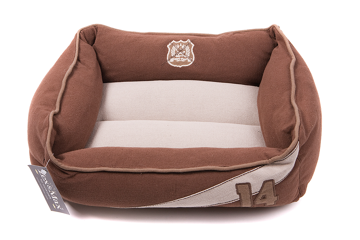 Productafbeelding voor 'Lex & max - kattenmand classic 14 taupe'