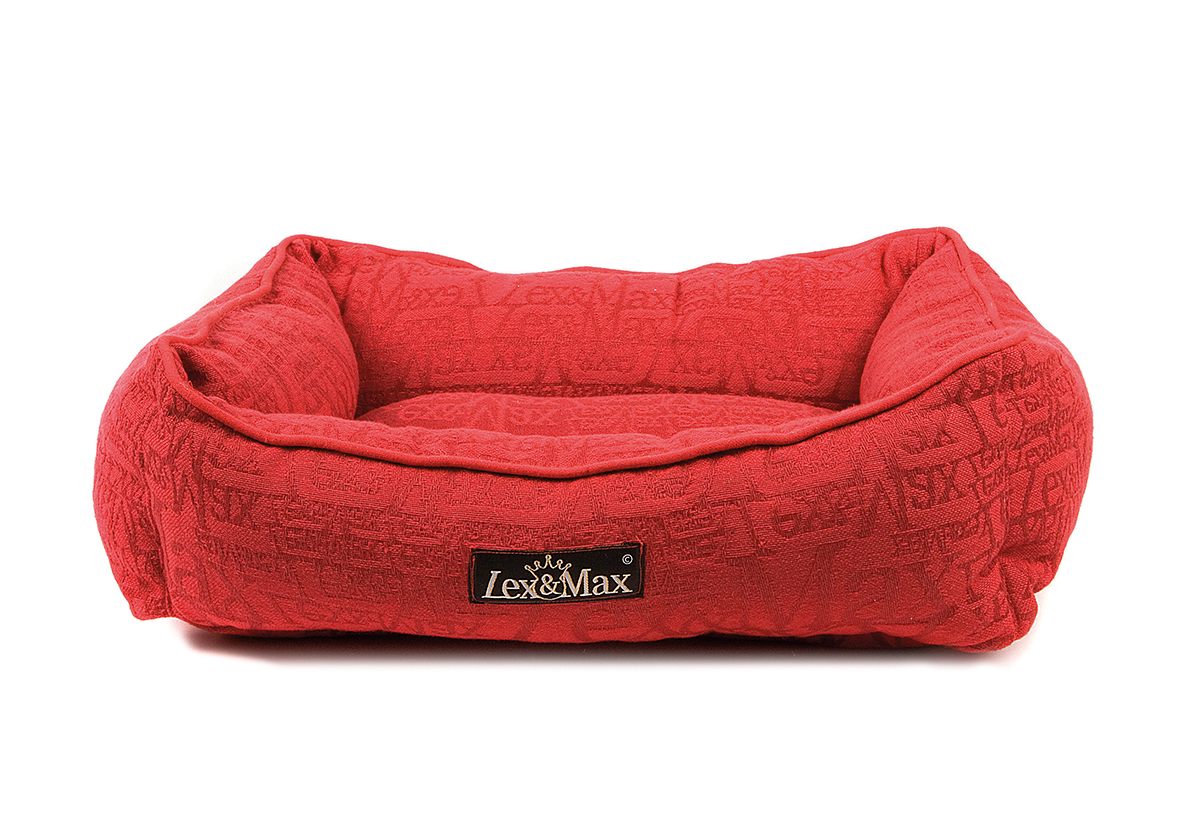 Productafbeelding voor 'Lex & max - kattenmand chic rood'