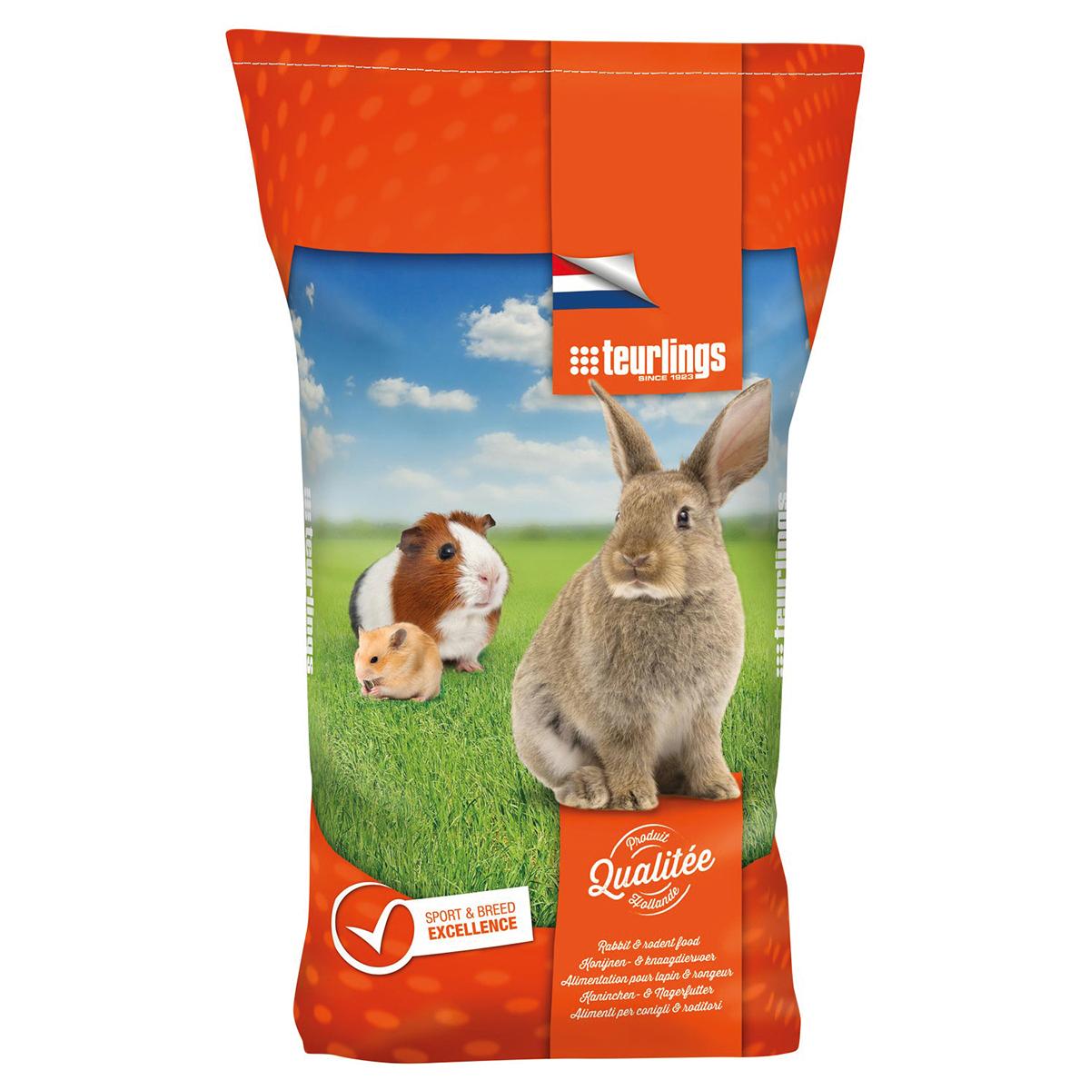 Q-konijn meerkleurig 15 kg