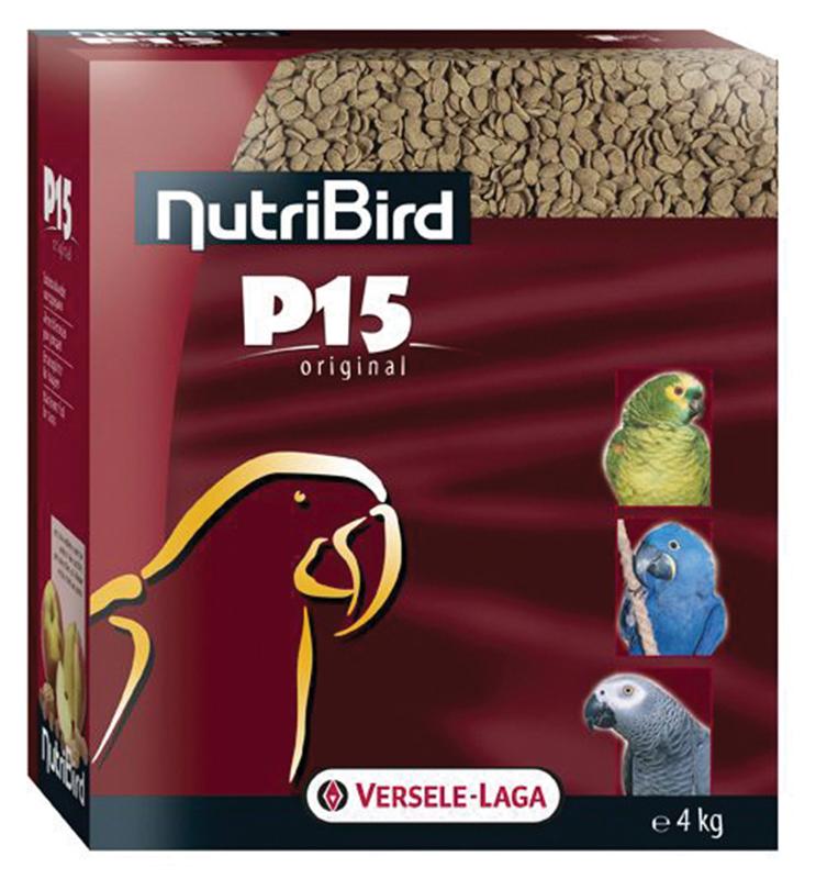 Nutri bird - p 15 original meerkleurig 4 kg