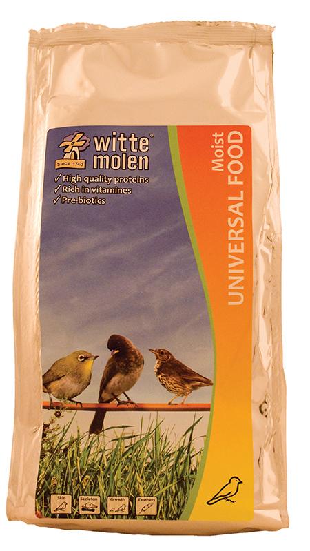 Witte molen - eivoer meerkleurig 400 gr
