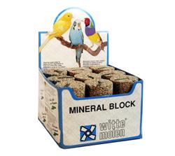 Witte molen - mineraalblok meerkleurig 85 gr