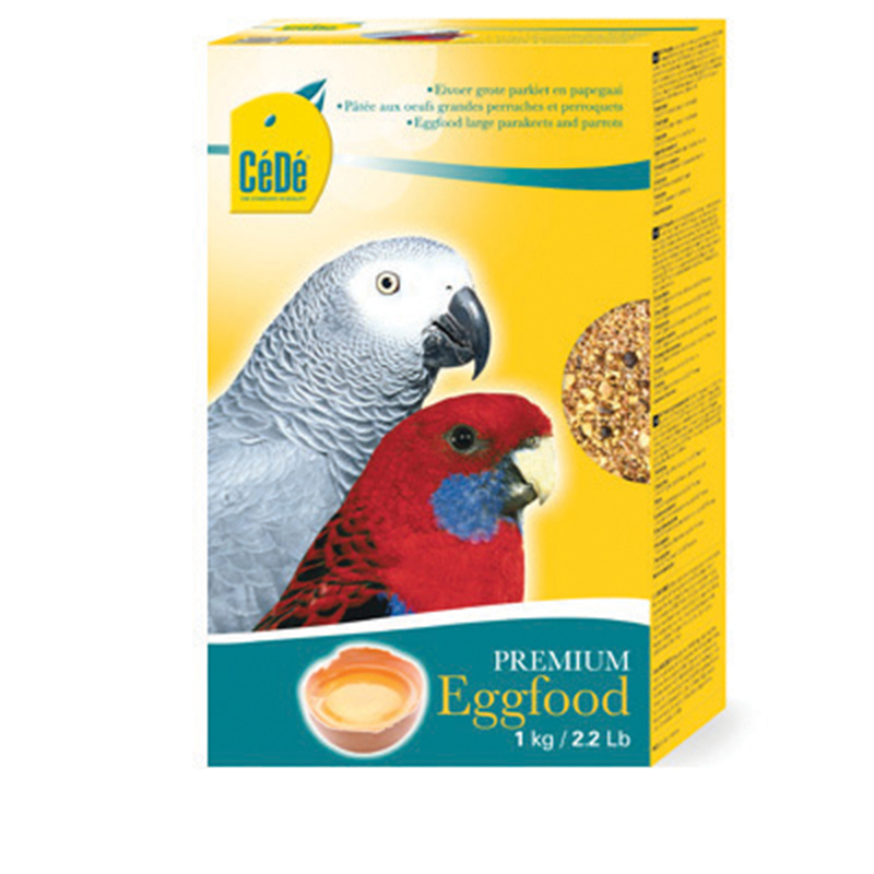 Grote parkiet&papegaai meerkleurig 1 kg