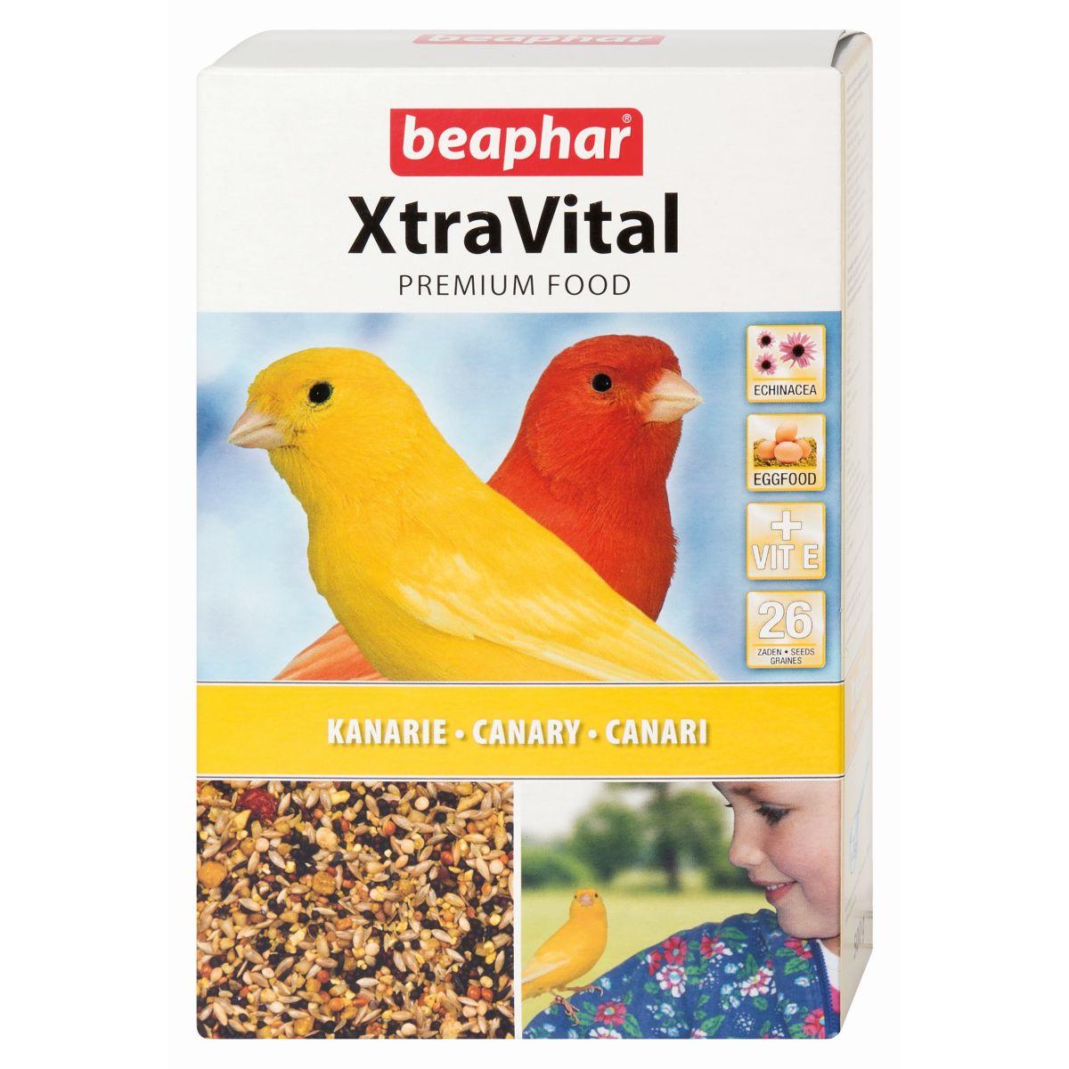 Dit premium vogelvoer van xtravital is speciaal samengesteld door voedingsdeskundigen, dierenartsen en ...