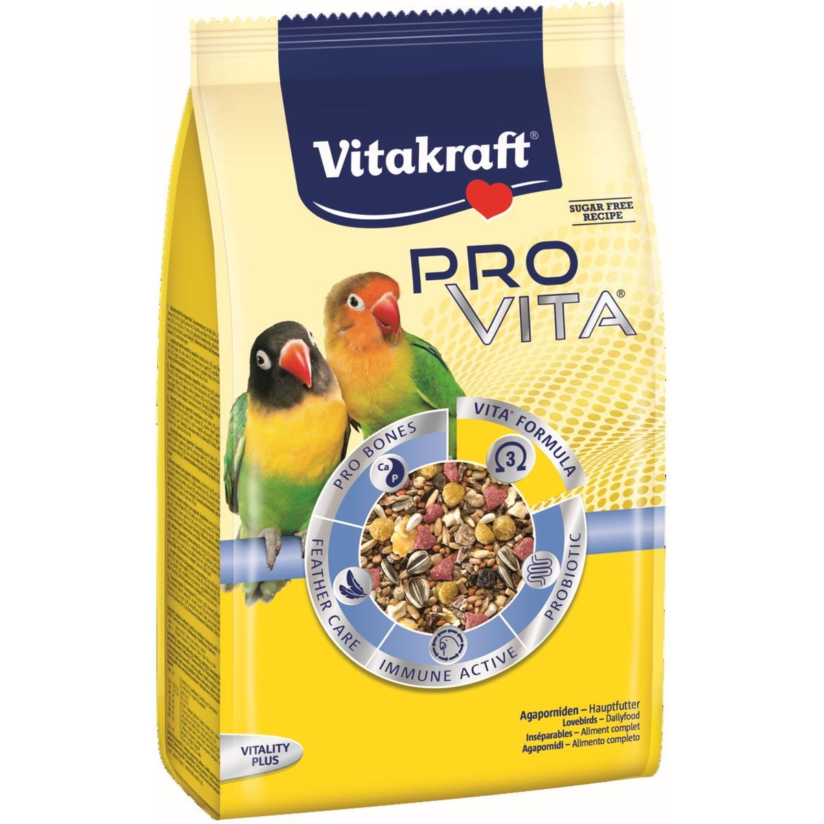 Productafbeelding voor 'Pro vita agapornidenvoer meerkleurig 750 gr'