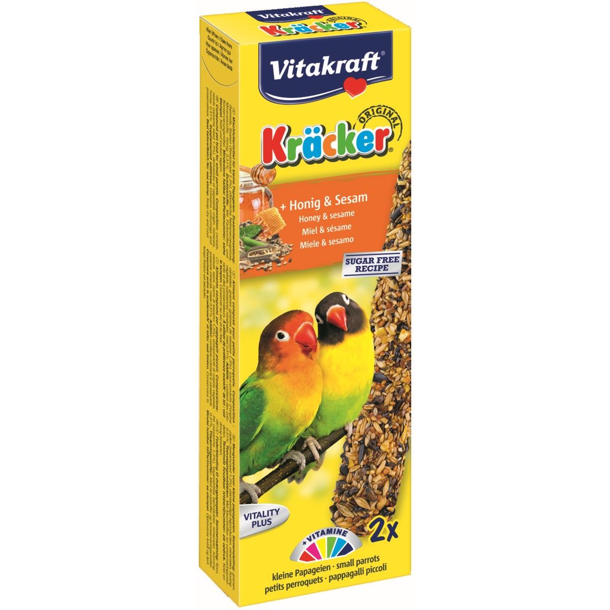 Vitakraft - kracker agaporniden meerkleurig 244 gr