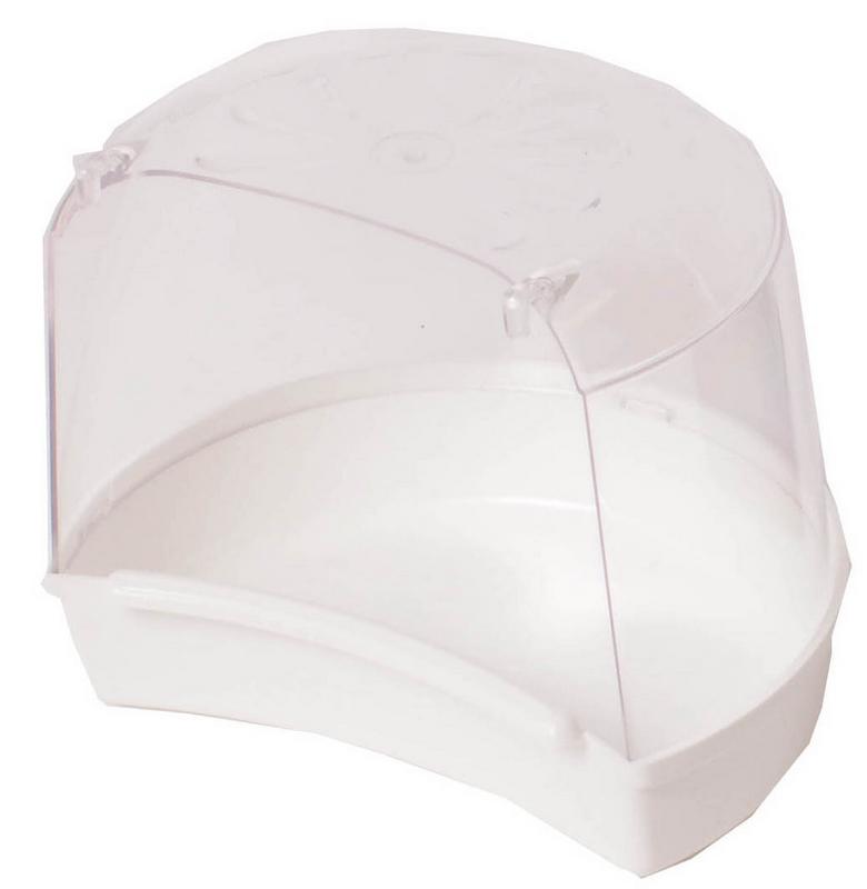Huismerk - miami badhuisje wit